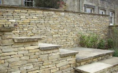 Cotswold Stone Walling, Patios & Pathways …