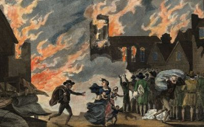 The Great Fire of London: a step change for concrete and masonry